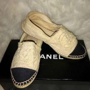 Chanel espadrilles 37